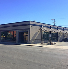 Exterior view of 235 Monterey street in Salinas.